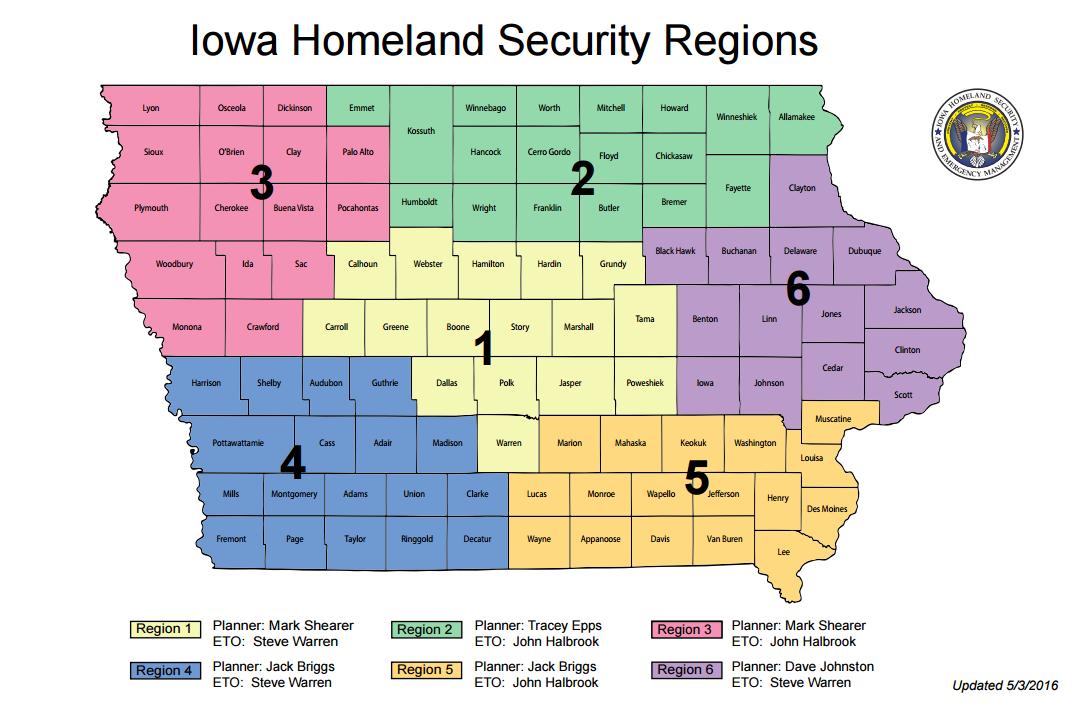 Homeland Security Regions